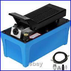 Air Powered Hydraulic Pump 10,000 PSI Rubber Single Acting Foot Operated Pump