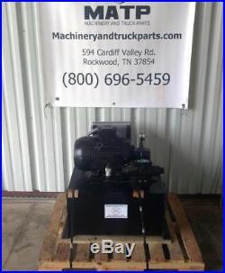 Airborne Bailer Hydraulic Power Unit 15Hp 3 Phase 208-230/460 VAC TEFC 15GPM