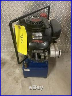 Alcoa 15GM 4HP Gas Powered Hydraulic Pump 10000PSI Portable/Tested #720