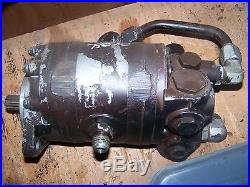 Allis Chalmers Tractor Hydraulic Power Steering Pump # 45207-44 7580 8550