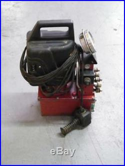 Aztec bolting systems 10000 psi hydraulic pump enerpac burndy power pack crimper