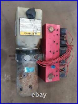Blizzard Power Hitch 810 8-10 Parts/Pump Core Hydraulic Manifold Snow Plow