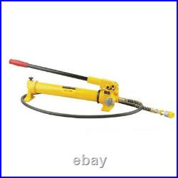 CP-700 Hydraulic Hand Pump 2-Speed Power Pack Hose Coupler 10000 PSI