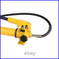 CP-700 Manual Hand Hydraulic Power Pack Pump 2 Stage 10000 PSI 3/8 NPT 350CC