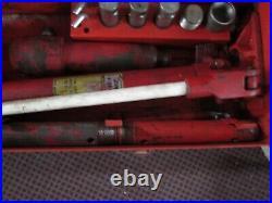 CUMMINS HYDRAULICS Porta Power Pump Lever 10 Ton PP-10