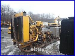 Caterpillar C18 Turbo Diesel Engine HYDRAULIC POWER UNIT! Pump 630 HP CAT