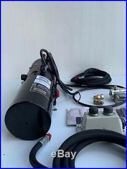 Concentric Snow Plow Hydraulic Power Unit 12V DC Monarch M6030100 Remanufactured