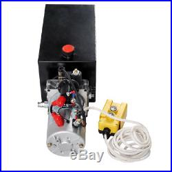 DC12V 10 Quart Tank Single Acting Hydraulic Pump Pack Power Unit for Car Lift