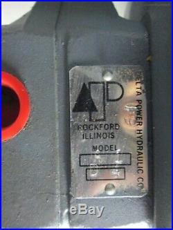 Delta Power A1+A354 Hydraulic Pump Motor Combination Baldor. 5hp 1500 ps. 31 GPM