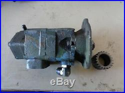 Detroit 8v92 Hydraulic power steering Pump double stage #V20106F13S2S
