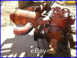 Deutz F3L912 Hydraulic Power Unit NICE! 60 HP Diesel Engine 912 Pump