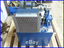 Drotrol Hydraulic System Power Pack Unit Anson VP5F-A5-50S Variable Pump & 3 HP