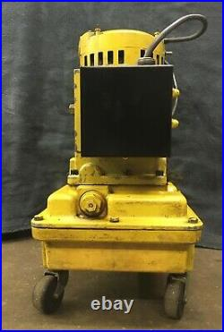 ENERPAC 1hp Electric Hydraulic Power Unit Pump with Pendant Control