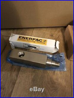 ENERPAC SCL101H 10 Ton Hydraulic Set / Porta Power P392 Pump Low Height New