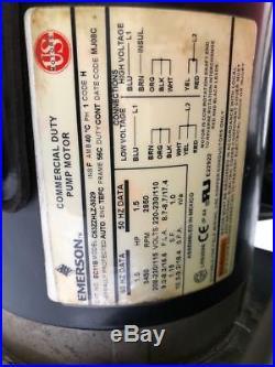 Eaton Et1280 Hydraulic Hose Maker Crimp Machine With Electric Pump Val Power