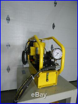 Enerpac 10,000 PSI Hydraulic Power Supply with Table Nice