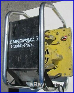 Enerpac EED-301 Hydraulic Power Pump 10,000 psi with Pendant for bender ram