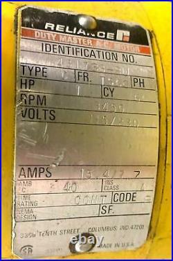 Enerpac Model 431733-BU Hydraulic Power Unit Pump, 1 HP, 115/120