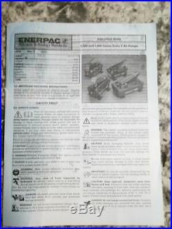 Enerpac PACG5002SB 1250 to 5000 PSI 127 Cu In Oil Cap Air Powered Hydraulic Pump