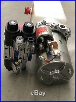 Force America Hydro-tek 12v Hydraulic Power Pack Pump Tank & Hoist Remote (read)
