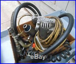 GREENLEE 915 ELECTRIC HYDRAULIC POWER PUMP, Ram Head, 2 Hydraulic Hoses, Handle