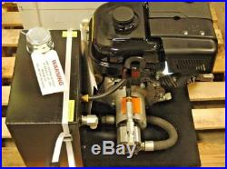 Gas Powered Hydraulic Pump-Auger Mate-9 HP E. Start-Aux wet kit for farms or trai