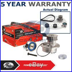 Gates Timing Cam Belt Water Pump Kit For Opel Vauxhall KP25542XS