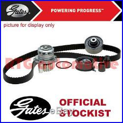 Gates Timing Cam Belt Water Pump Kit For Vauxhall Vectra 1.8 Petrol (2002-2008)