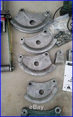 Greenlee 882 greenlee 975 Flip Top Bender 1.25-2 EMT hydraulic power pump