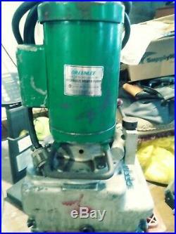 Greenlee 960 Electric/Hydraulic Power Pump