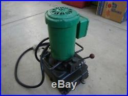 Greenlee 960 Hydraulic Power Pump
