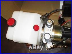 HYDRAULIC POWER UNIT, Double acting, 12 VDC, trailer-hoist, wireless remote