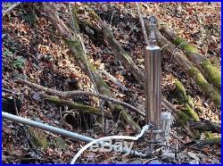 HYDRAULIC Ram Water Pump Off the GRID Creek, Spring, Pond Hydro power