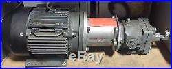 Hawker Siddeley Electric Motor Hydraulic Power Unit 2424210-00M 7.5HP 1730-RPM