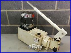 Heypac GX40-BSV-T1 Air Intensifier Driven Hydraulic Power Unit 280 BAR Max