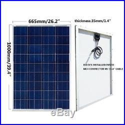 High Power 2100W Solar Panel Kits with 24V Deep Well Water Pump & Controller