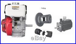 Honda GX200 Hydraulic 8 GPM Hi Lo Pump Log Splitter Power Unit Bracket Couplers