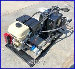 Honda Gasoline Power Engine Hydraulic Unit PTO Hydraulic Crane 16 GPM Pump 2500