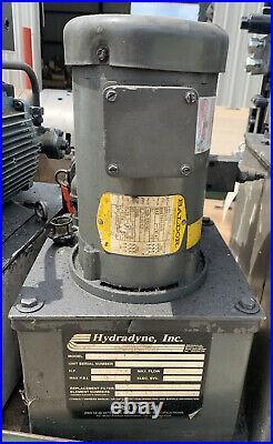 Hydradyne 1HP Hydraulic Power Pump Unit 3000psi 230/460V J0187A