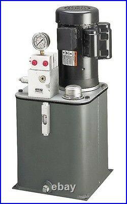 Hydraulic AC Power Unit 2.5 GPM 5 HP 3000 PSI 208-230/460 1800 RPM 3PH