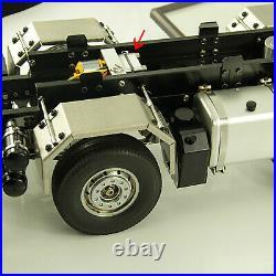 Hydraulic Gear Pump Metal Power mit Relief Valve für 1/14 RC Trailer Truck Auto