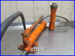 Hydraulic Hand Pump Porta Power withCylinder Jack 10 15 Ton Enerpac Blackhawk