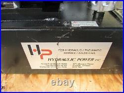 Hydraulic Power Inc. 3 HP Hydraulic Power Unit, 15-gallon, Hp1.5vp303e15a