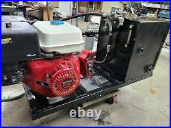 Hydraulic Power Pack Honda GX Engine electric start 9 GPM 2000 PSI 13Gal Tank