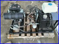 Hydraulic Power Pack Predator Engine electric start 14 GPM 2000 PSI 13Gal Tank