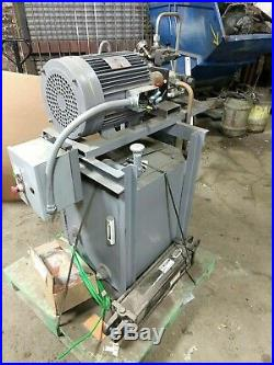 Hydraulic Power Unit 15HP, 2500 psi, includes New Prince 5x 18 cylinder
