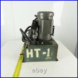 Hydraulic Power Unit 5 Gal. 1.5Hp 115/230V Single Phase WithBosch Control Valve