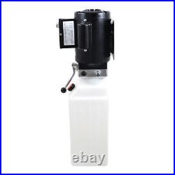 Hydraulic Power Unit Pump 220V 220V Hydraulic Power Unit Pump Car Lift Ramp 10L