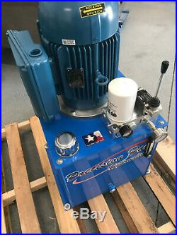 Hydraulic power unit 5 H. P. Electric 5 GPM Pump SINGLE phase OR