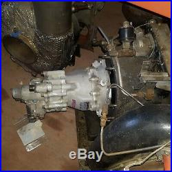 Jet engine gas Turbine powered variable displacement hydraulic pump